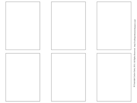 note card size template template index card template