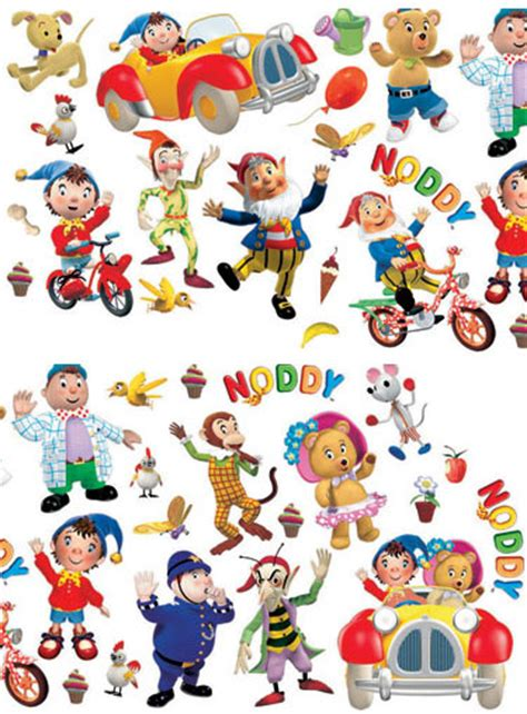 noddy wall stickers noddy wall stickers stikarounds 36 pieces review