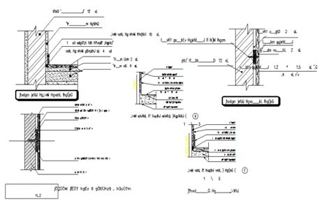 section column structure beam column section detail
