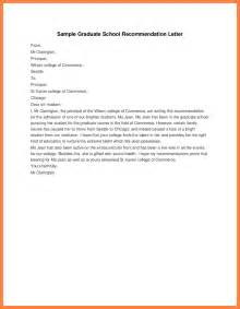Cover Letter Graduate School by Reference Letter Sle Graduate School Cover Letter