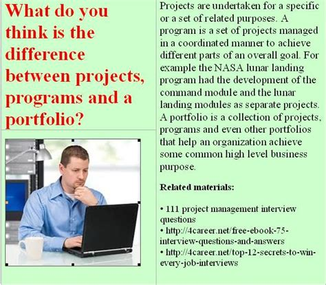 information technology project management interview questions