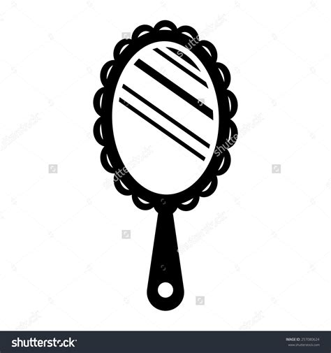 black and white mirror mirror clipart many interesting cliparts