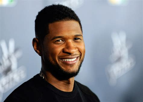 usher r it s official usher gets engaged to grace miguel photo
