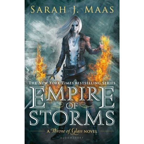 libro empire of storms throne empire of storms throne of glass 5 signed