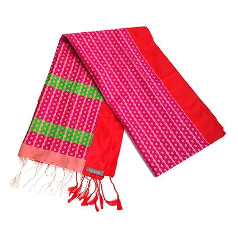 Jazz020 Pink festive silk brocade scarf in pink jazz earth heir fashion compassion