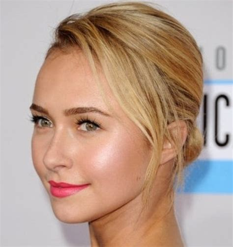 round face bun hairstyles 20 cute short hairstyles for round faces 187 frisurentrends