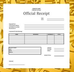 Official Receipt Sample Template Official Receipt Related Keywords Amp Suggestions Official