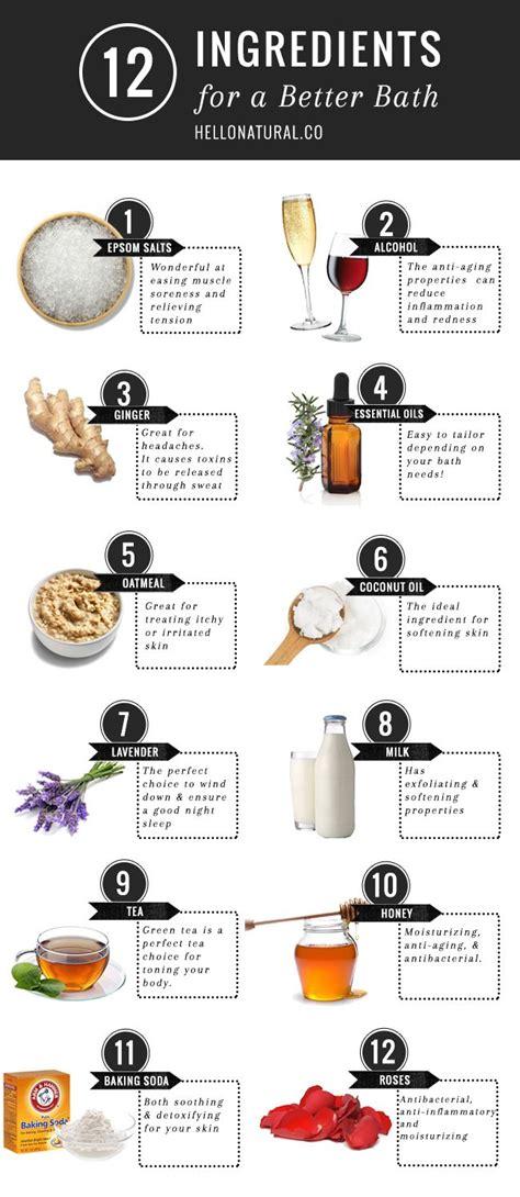 Detox Bath Ingredients by 17 Best Ideas About Oatmeal Bath On Diy Bath