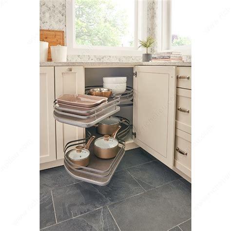 kitchen cabinet storage accessories two shelf system richelieu hardware
