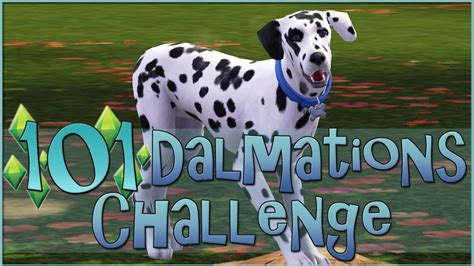 sims 3 pets challenges sims 3 101 dalmatians challenge trio of new puppies