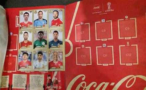 Stickers Coca Cola Panini by Football Cartophilic Info Exchange Panini Fifa World