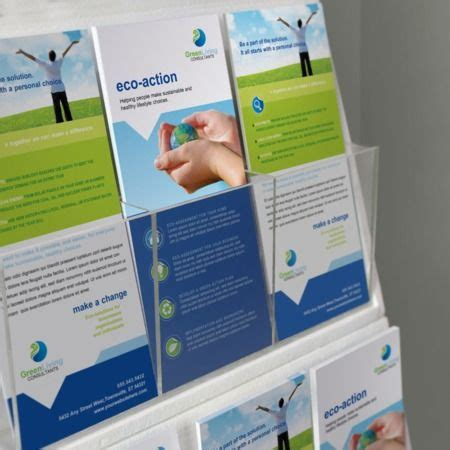 uprinting rack card template 41 best brochures images on brochures card