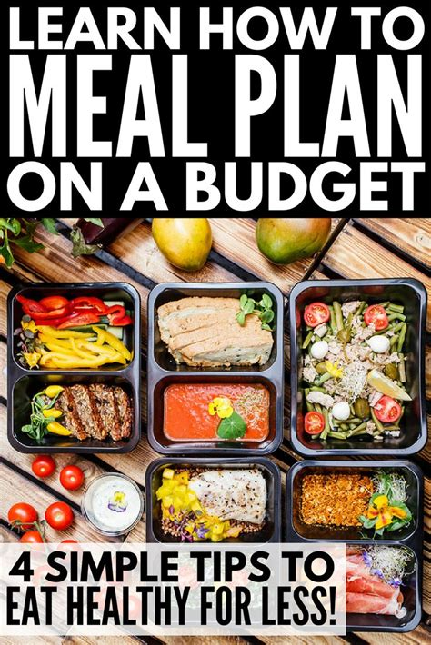 college meal planning ideas  pinterest