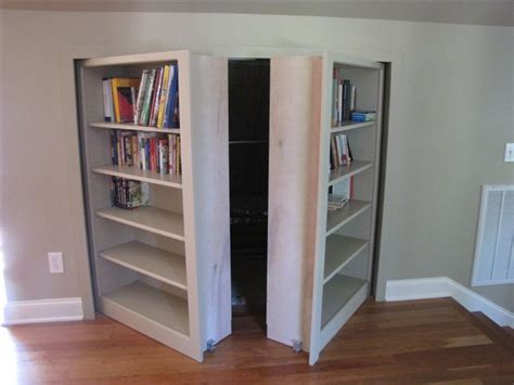 Invisidoor Hidden Door Bookcase Traditional Family How To Build A Bookcase With Doors