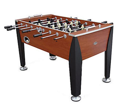 Sportscraft Foosball Table by Sportcraft Stamford Foosball Table Qvc