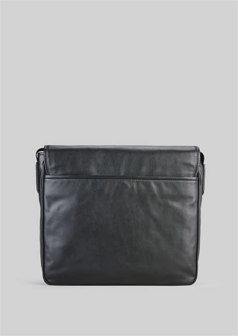 Giorgio Armani Bag Rc001 leather cross messenger bag for giorgio armani