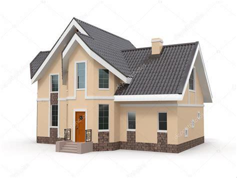 images home house on white background stock photo 169 maxxyustas 18972191