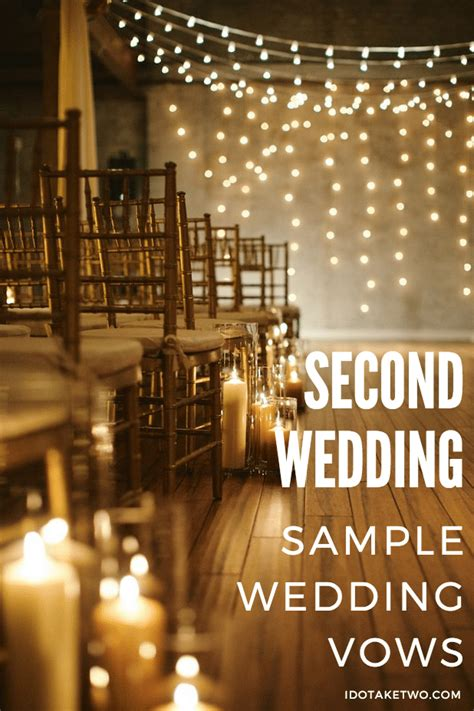 Wedding Vows For Second Marriage by I Do Take Two Second Marriage Ceremony