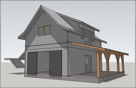 the decorative plans to build garage with living quarters