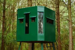 elevated bow hunting blinds offer quantity discounts all deer plans