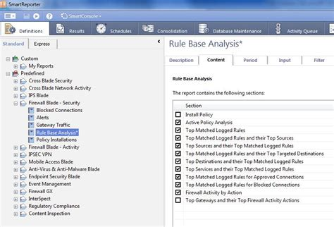 firewall report template best practices rulebase construction and optimization
