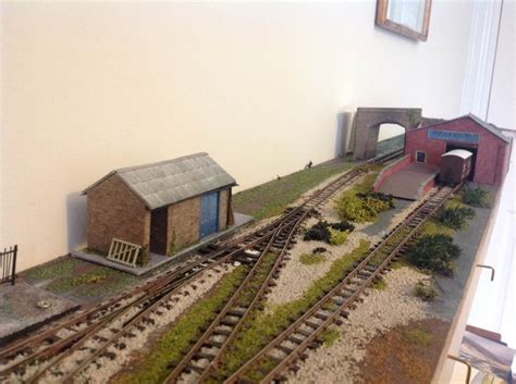 Model Railway Shelf Layout by Alan S Shelf Layout Model Railway Layouts Plans