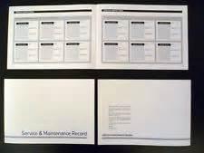 Audi Service Booking Audi Service Book Ebay