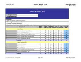 best photos of project management budget template