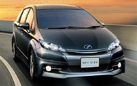 toyota wish review 2017 toyota wish review and release date toyota specs