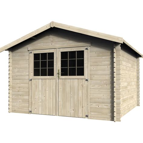cabane de jardin en bois leroy merlin abri de jardin en bois flov 232 ne 9m2 233 p 28mm leroy merlin