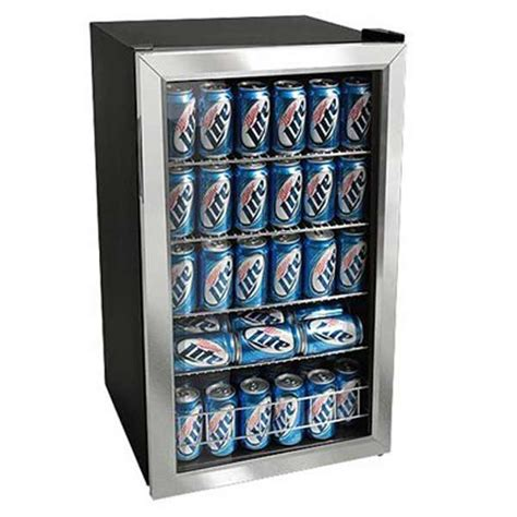 outdoor edge walk in cooler glass front beverage refrigerator feel the home