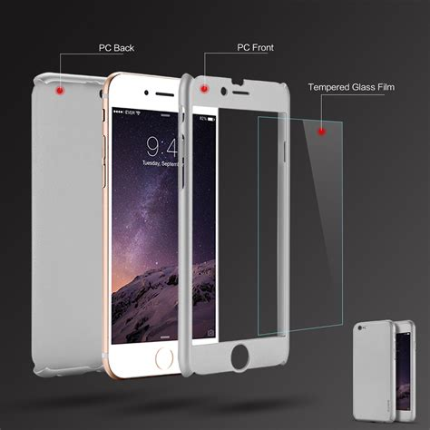 Hardcase Design Floveme For Iphone 7 Plus Free Stand Holder מוצר floveme cover for iphone 6 6s plus 3 in 1