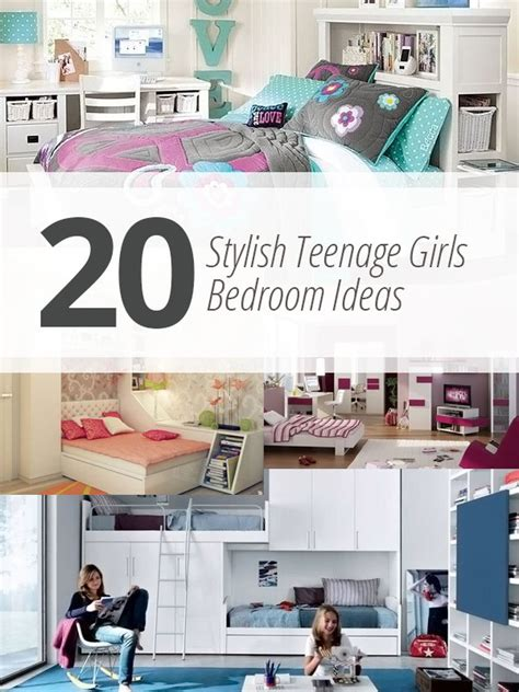 Tween Bedroom Designs by 20 Stylish Teenage Girls Bedroom Ideas Home Design Lover