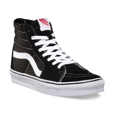 Harga Vans Zapato All Black vans shoes vans sk8 hi suede canvas shoes black white