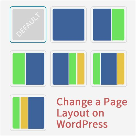 change layout of wordpress blog how to change a page layout on wordpress slocum themes
