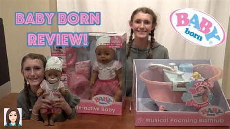 baby born interactive doll  musical foaming bathtub review youtube