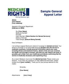 Appeal Letter For Medication Insurance Appeals Letters Sle Appeal Letters Letter Sle
