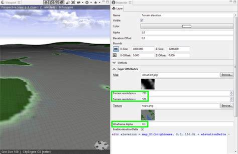 arcgis terrain tutorial tutorial 2 terrain and dynamic city layouts cityengine