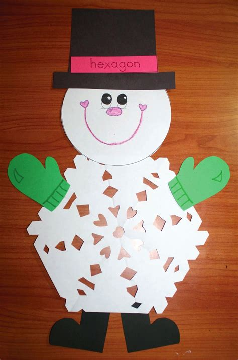 snowflake pattern snowman classroom freebies 2d shaped snowflake patterns