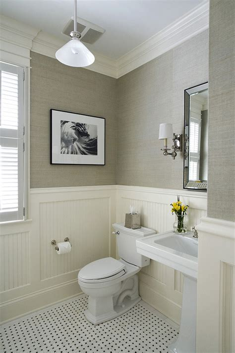 bathroom trim ideas chair rail molding ideas for the bathroom renocompare