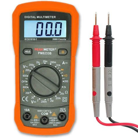 how to test a resistor with digital multimeter digital multimeter aidbucks ms8233b ac dc voltage tester current resistance multi tester