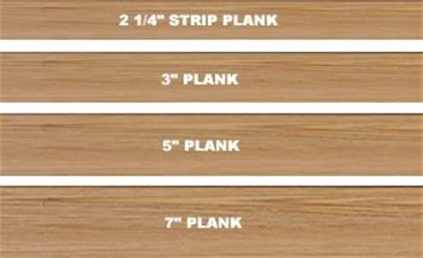 hardwood floor customization board width and installation
