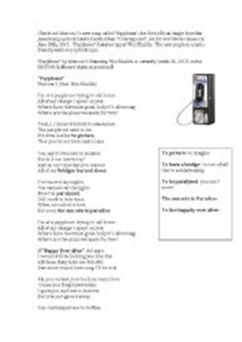 testo payphone lyrics of payphone