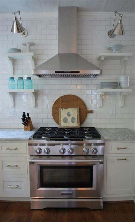 eautiful kitchen with subway tiles backsplash with oyster