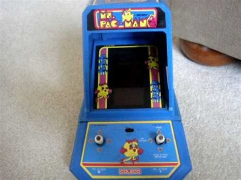 Coleco Ms Pacman Table Top Arcade Youtube Table Top Arcade