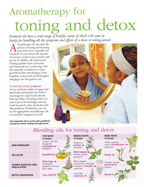 Detox For Spirit by Aromatherapy For Toning And Detox Aromatherapy