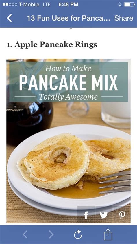 cara membuat haan pancake mix musely