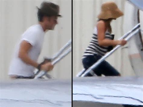 jennifer aniston and justin theroux jet off on honeymoon jennifer aniston and justin theroux jet out for honeymoon