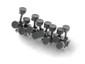 Bugatti Veyron W16 Engine Animation W16 Engine Cranktrain Free 3d Model Cgtrader