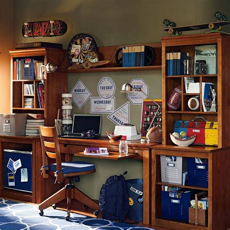 teen bedroom desk study space inspiration for teens